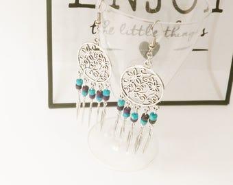 DREAMCATCHER earrings turquoise