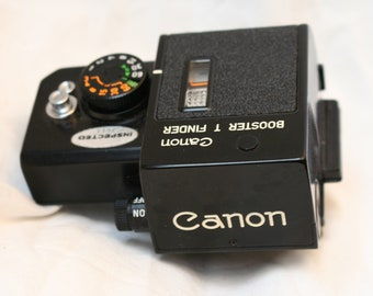 Canon Booster T Finder for Canon F1 in Case