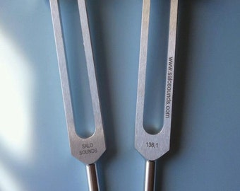 Tuning Forks Ohm 136.10 HZ Sound Therapy Forks Designed by Dr. Salo Stanley D.C.