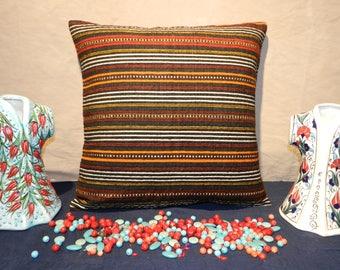 kilim pillow, turkish pillow,handmade pillow,decorative pillows,pillow covers 20 x 20,kilim pillowcover,20x20inch,50x50cm