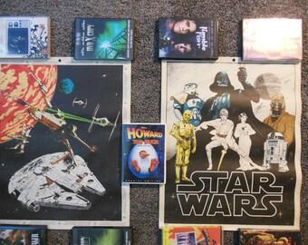 Star Wars Coloring Poster 1977