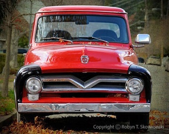 1955 Ford F100 - 8x10 Fine Art Photograph