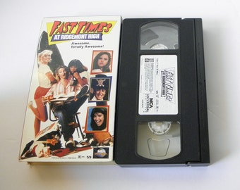 Fast Times at Ridgemont  High VHS Video Tape 1996  Sean Penn Pre-owned