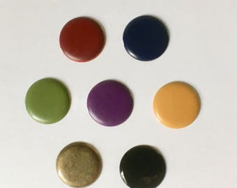 Metal Brads or Paper Fasteners in Assorted Colors and Sizes for Office and Crafts