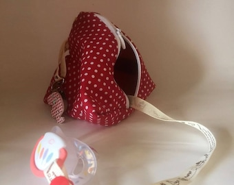 Attached nipple red lollipop favors