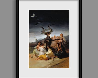 Witches' Sabbath - Francisco Goya