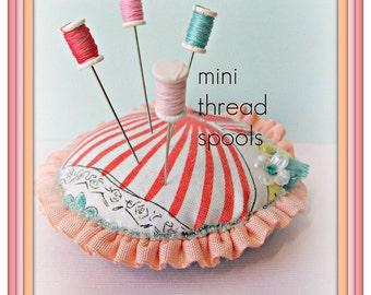 Couleur de bonbons assortis MIni fil bobine Pin Topper