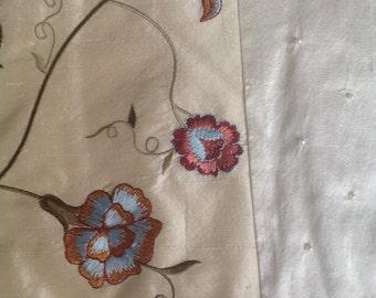 Natural silk baby blanket