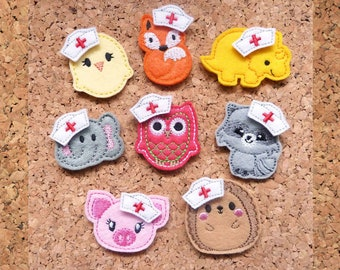 Add a little Nurse Hat to your badge reel purchased from The Badge Patch | 1204