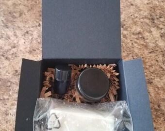 Sample beard grooming kit
