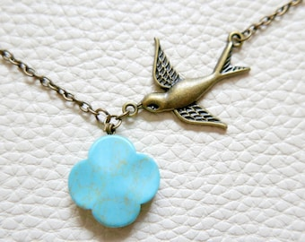 Necklace swallow