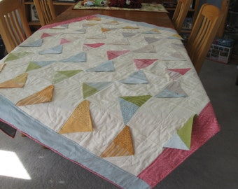 Be Happy Quilt designed by Sweetwater and featuring new Noteworthy fabric from Moda