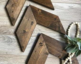 Decorative Arrows, Chevron, Wooden, Farmhouse Decor, Gallery Wall, Wood, Wall Decor