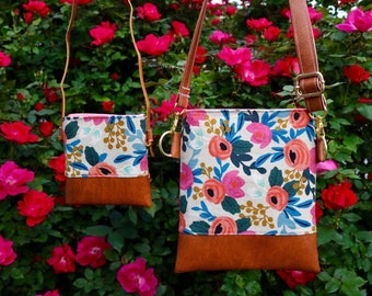 Beautiful Rosa mommy & me set cross-body (Rifle Paper Co.)