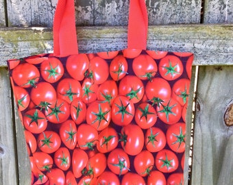 Market tomato tote