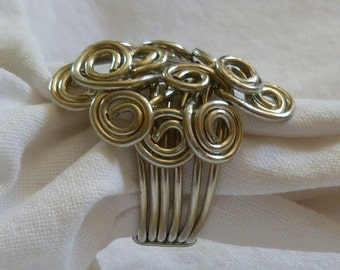 wire wrapped fun ring size 6