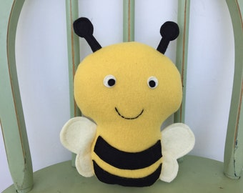 Bumblebee Softie Toy, Perfect for Nursery!