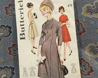 "Butterick 70s dress pattern size 14, bust 34"""