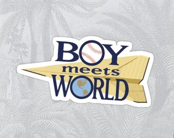 Boy Meets World High Quality Sticker