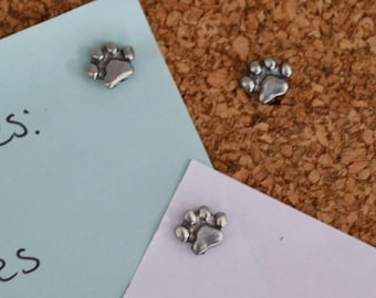 Paw Print Pushpins- Pet, Dog, and Cat Gifts and Decor- Pet Lover Gifts, Cat Lady and Dog Mom Gifts