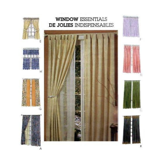 Vorhänge mit Registerkarten Rücken Volant binden Fenster