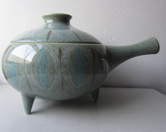 Vintage Ceramic Lidded Serving Dish circa the 60's