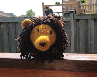 Lion Amish puzzle ball