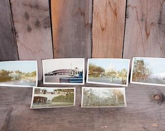 Lot 1960s Disneyland Disney Family Vacation Photos Train Tiki Main Street Magic Kingdom
