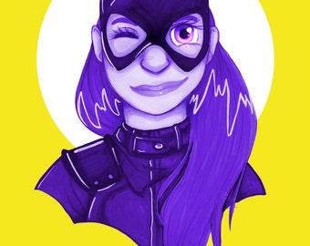 A3 Batgirl Print