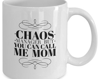Chaos manager mother's day mug