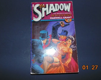 Vintage Book THE SHADOW #21 Wealth Seeker 1978 by Maxwell Grant PB