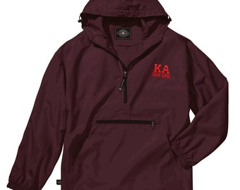 Kappa Alpha Pack-N-Go Pullover (red embroidery)