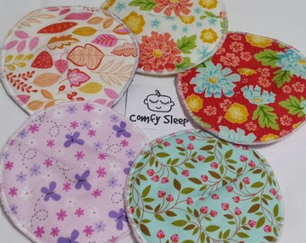 Reusable bamboo nursing pads/ spring/floral/PUL/waterproof