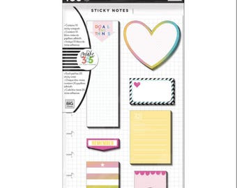 Create 365 The Happy Planner Sticky Notes, Student, Student Planner Sticky Notes, Happy Planner Accessories