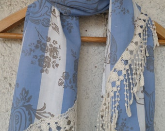 Lace scarf,  Shawll, scarf Women Fashion Accessories Gift Ideas For Her,  Scarf Valentine's