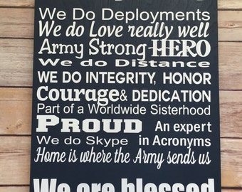 Military Family, Military Sign, Army Family, Gifts For Military, Military  Home,