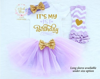 1st Birthday Girl Outfit, It's My 1st Birthday 1st Birthday Outfit, First Birthday Outfit Girl, 1st Birthday Girl, First Birthday Gift BF33