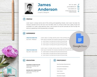 New Google Docs Resume, Google Docs Resume Template, Google Docs Template,  Instant Download