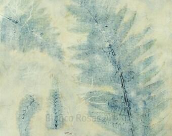 13.5 x 13.5 cm Helecho licht blue