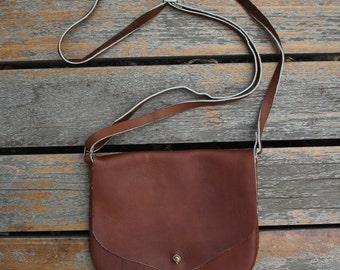 Handmade Chamois Leather Purse for Women