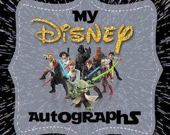 Star Wars Covers 8x8, 5x7, 4x6 Digital Autograph Book