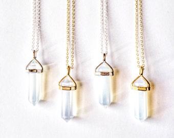 Opalite Quartz Necklace