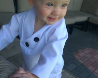 Baby Boy Baptism Outfit, Christening Outfit, Blessing Outfit, White Suit, Baby Boy White Suit