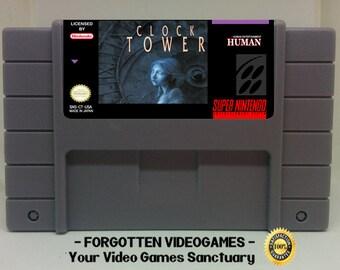Clock Tower -  English Translation  - SNES Super Nintendo