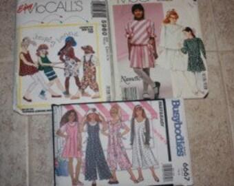 3 Girls Dress Patterns