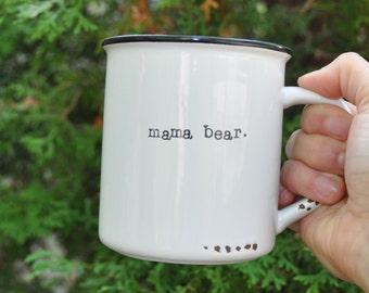 Mama bear mug coffee mug mom mug gift for mom papa bear mug baby shower gift mom gift new mom gift mama bear cup mothers day gift mama bear