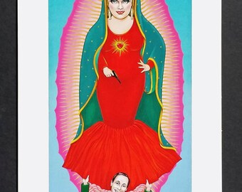 Guadalupe de Baltimore signed Giclee print