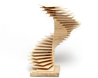 Handmade wooden CD rack