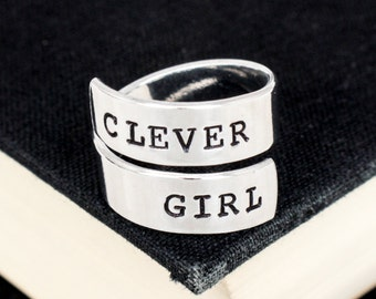 Clever Girl Wrap Ring