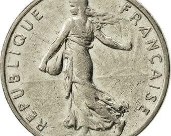france semeuse 1/2 franc 1986 paris ef(40-45) nickel